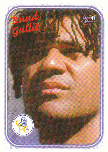 Ruud Gullit Chelsea 1997/98 Futera Fans' Selection Special Edition #SE13