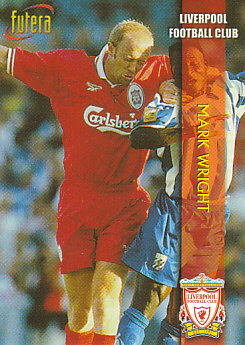Mark Wright Liverpool 1998 Futera Fans' Selection #1