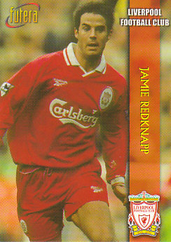 Jamie Redknapp Liverpool 1998 Futera Fans' Selection #6