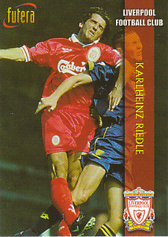 Karlheinz Riedle Liverpool 1998 Futera Fans' Selection #7