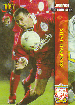 Steve Harkness Liverpool 1998 Futera Fans' Selection #9