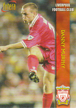 Danny Murphy Liverpool 1998 Futera Fans' Selection #10