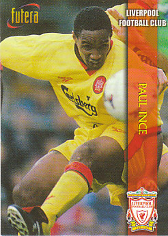 Paul Ince Liverpool 1998 Futera Fans' Selection #11