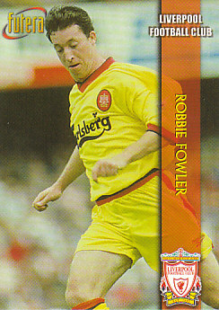 Robbie Fowler Liverpool 1998 Futera Fans' Selection #15
