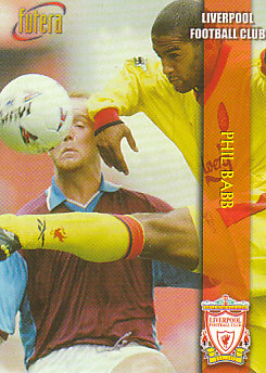 Phil Babb Liverpool 1998 Futera Fans' Selection #18