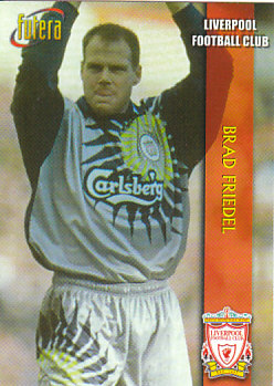 Brad Friedel Liverpool 1998 Futera Fans' Selection #21