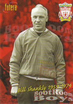 Bill Shankly Liverpool 1998 Futera Fans' Selection #25