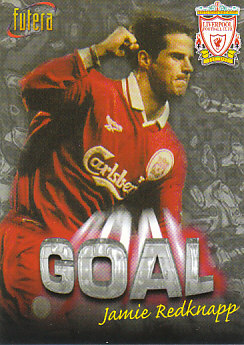 Jamie Redknapp Liverpool 1998 Futera Fans' Selection #33