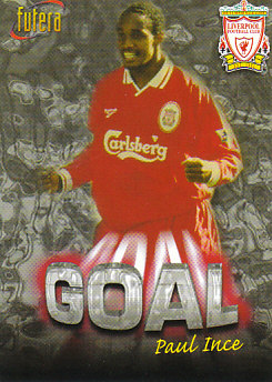 Paul Ince Liverpool 1998 Futera Fans' Selection #35