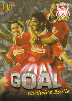 Karlheinz Riedle Liverpool 1998 Futera Fans' Selection #36