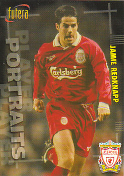 Jamie Redknapp Liverpool 1998 Futera Fans' Selection #38