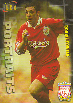 Robbie Fowler Liverpool 1998 Futera Fans' Selection #39