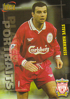 Steve Harkness Liverpool 1998 Futera Fans' Selection #40