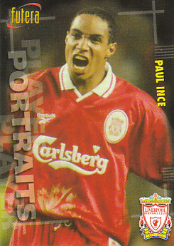 Paul Ince Liverpool 1998 Futera Fans' Selection #44