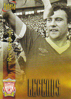 Ray Kennedy Liverpool 1998 Futera Fans' Selection #51