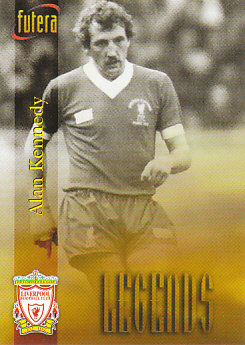 Alan Kennedy Liverpool 1998 Futera Fans' Selection #52