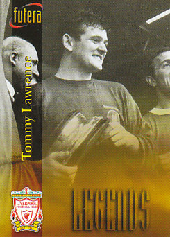 Tommy Lawrence Liverpool 1998 Futera Fans' Selection #55