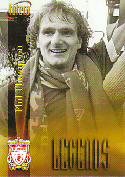 Phil Thompson Liverpool 1998 Futera Fans' Selection #56