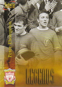 Peter Thompson Liverpool 1998 Futera Fans' Selection #57