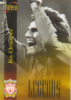Ray Clemence Liverpool 1998 Futera Fans' Selection #58