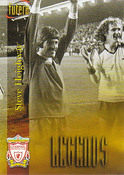 Steve Heighway Liverpool 1998 Futera Fans' Selection #61