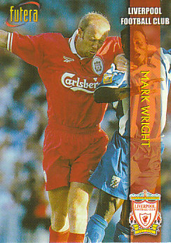Mark Wright Liverpool 1998 Futera Fans' Selection Embrossed #1