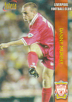 Danny Murphy Liverpool 1998 Futera Fans' Selection Embrossed #10
