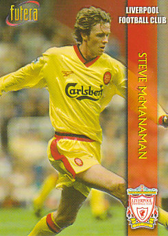 Steve Mcmanaman Liverpool 1998 Futera Fans' Selection Embrossed #16