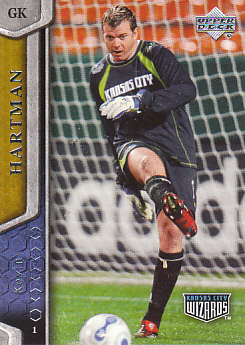 Kevin Hartman Kansas City Wizards UD MLS 2007 #55