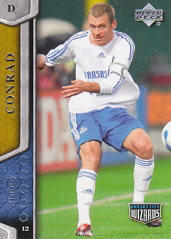 Jimmy Conrad Kansas City Wizards UD MLS 2007 #57