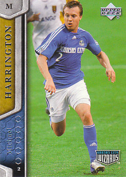 Michael Harrington Kansas City Wizards UD MLS 2007 #58