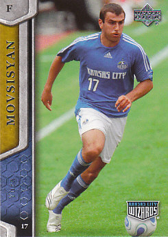 Yura Movsisyan Kansas City Wizards UD MLS 2007 #59