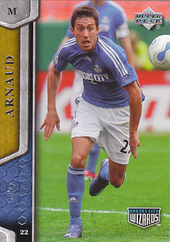 Davy Arnaud Kansas City Wizards UD MLS 2007 #60
