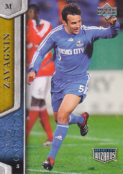 Kerry Zavagnin Kansas City Wizards UD MLS 2007 #61