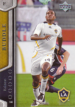 Edson Buddle Los Angeles Galaxy UD MLS 2007 #67