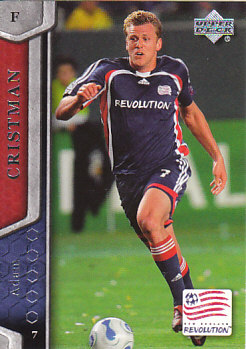 Adam Cristman New England Revolution UD MLS 2007 #73