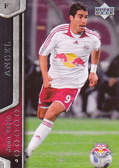 Juan Pablo Angel New York Red Bulls UD MLS 2007 #78