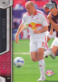 Clint Mathis New York Red Bulls UD MLS 2007 #79