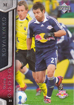 Dema Kovalenko New York Red Bulls UD MLS 2007 #81