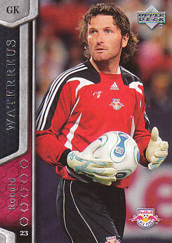 Ronald Waterreus New York Red Bulls UD MLS 2007 #82