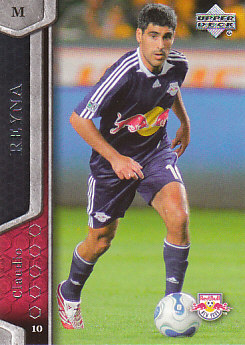 Claudio Reyna New York Red Bulls UD MLS 2007 #83