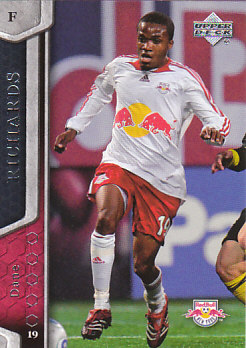 Dane Richards New York Red Bulls UD MLS 2007 #85