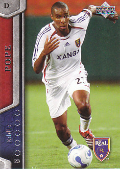 Eddie Pope Real Salt Lake UD MLS 2007 #88