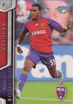 Robbie Findley Real Salt Lake UD MLS 2007 #89
