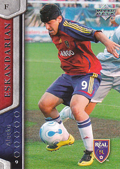 Alecko Eskandarian Real Salt Lake UD MLS 2007 #90