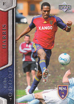 Atiba Harris Real Salt Lake UD MLS 2007 #92