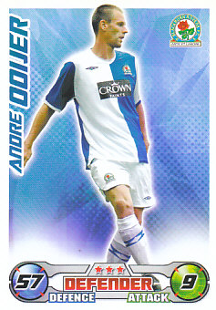 Andre Ooijer Blackburn Rovers 2008/09 Topps Match Attax #37