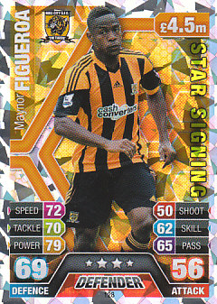 Maynor Figueroa Hull City 2013/14 Topps Match Attax Star Signing #128