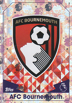 Club Badge AFC Bournemouth 2016/17 Topps Match Attax Club Badge #1