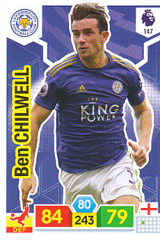 Ben Chilwell Leicester City 2019/20 Panini Adrenalyn XL #147